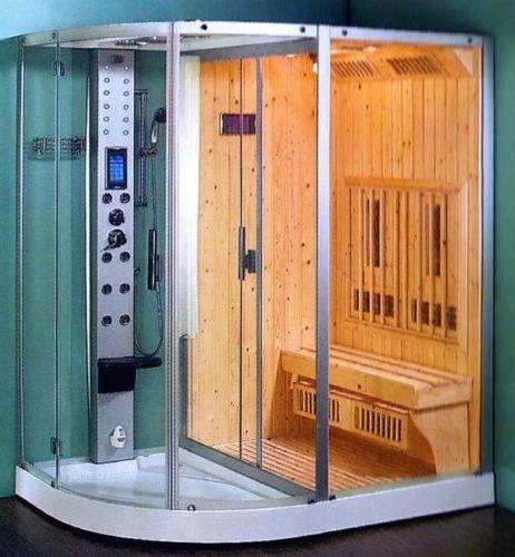 Cabina Doccia Con Sauna.Cabina 130x85 Box Doccia Sauna E Bagno Turco Cabina E Vasca