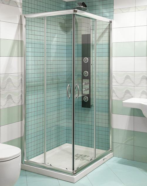 Riparazione dell\'appartamento, casa: Box doccia rettangolare 70x100