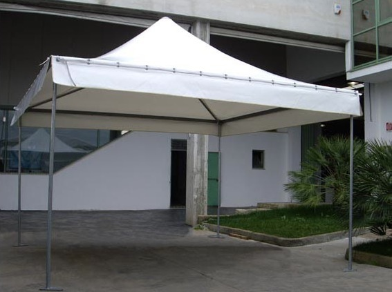 Gazebo Da Giardino 4x4 : Tenda gazebo pagoda m certificato per uso pubblico pvc da