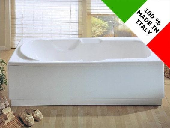 Verniciare Vasca Da Bagno : Vasca da bagno design nuova rettangolare reversibile 170x70 70x170
