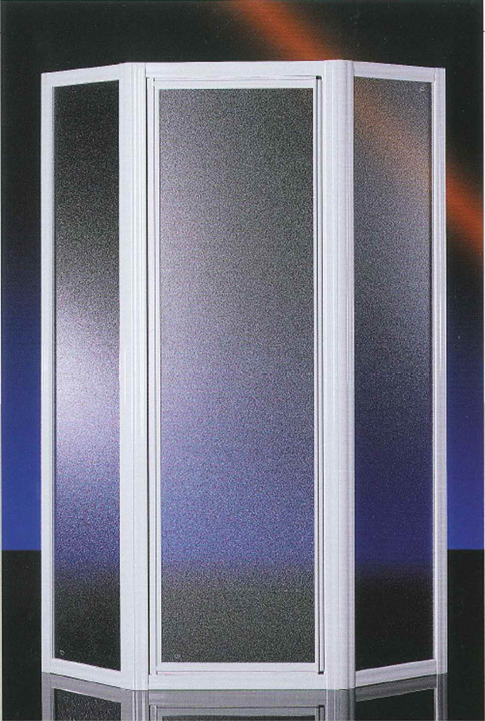 Box doccia pentagonale arredo bagno vetro temperato 3mm - Box doccia pentagonale ...