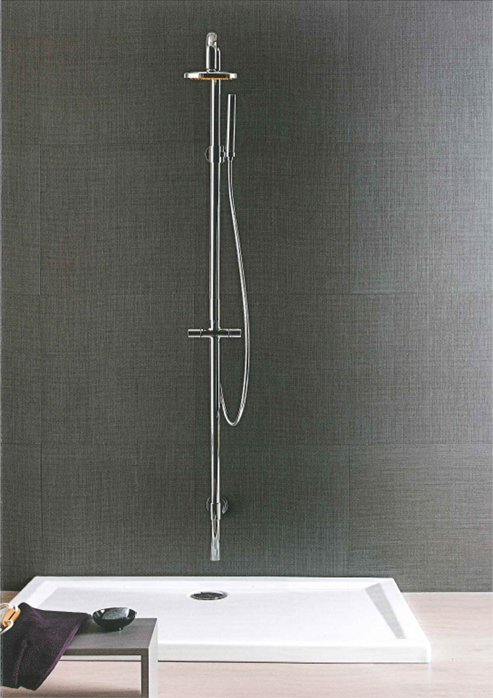 Piatto doccia per box cabina rettangolare sottile 140x80x6 - Box doccia chiuso sopra ...