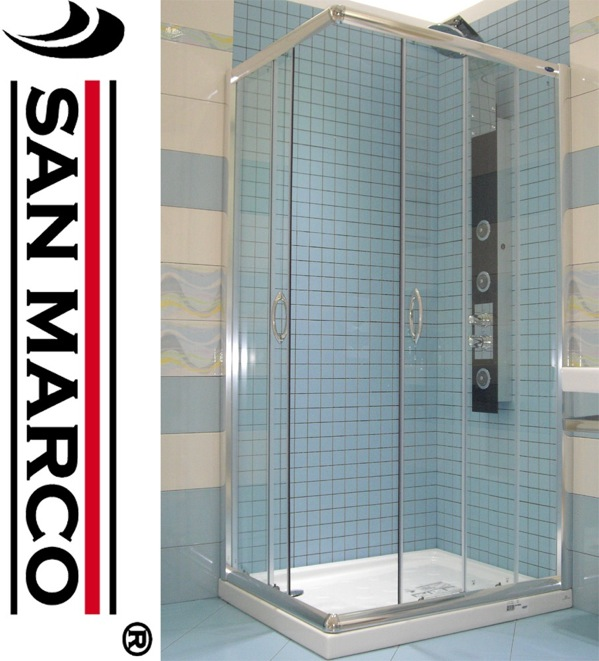 Cabina Box Doccia Angolare 70x70 80x80 90x90 70x90 70x100 70x120 80x100 80x120 Ebay