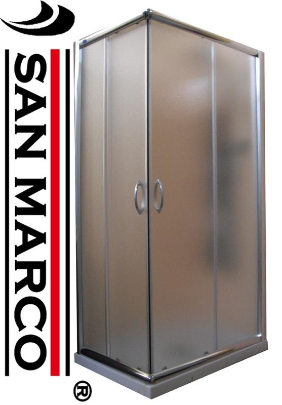 Cabina box doccia angolare 70x70 80x80 90x90 70x90 70x100 70x120 80x100 80x12...