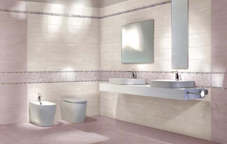 Piastrelle per rivestimento e pavimento ceramica da bagno, 20x50 e 34x34 cm  eBay