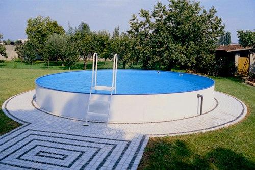 Piscina fuori terra e interrabile zodiac rio 400x120 cm for Piscina vetroresina usata