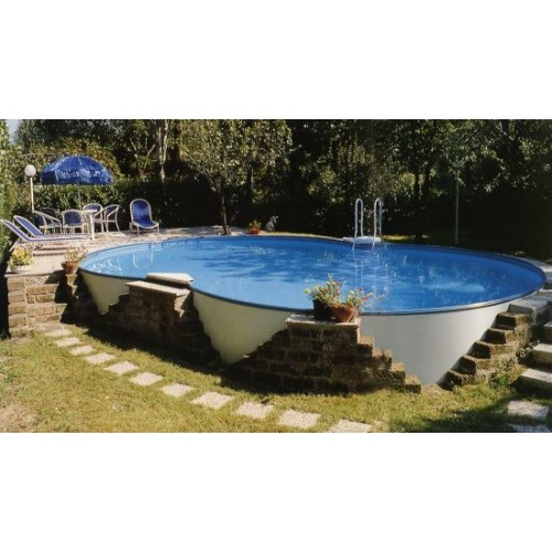 Piscina fuori terra e interrabile zodiac riva 725x460x120 for Piscine portante