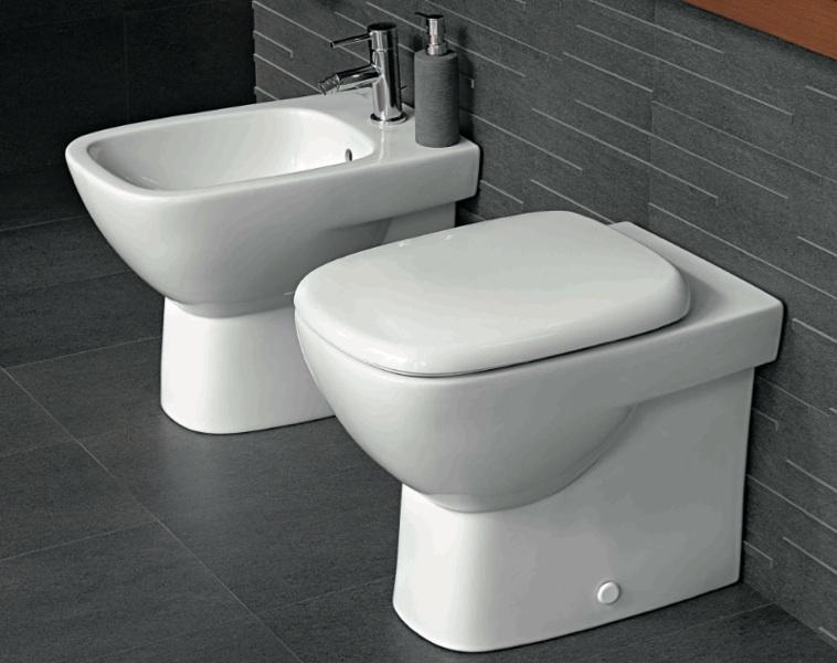 Sanitari bagno filo parete appoggio vaso sedile e bidet fantasia 2 pozzi ginori ebay - Sanitari bagno prezzi ...