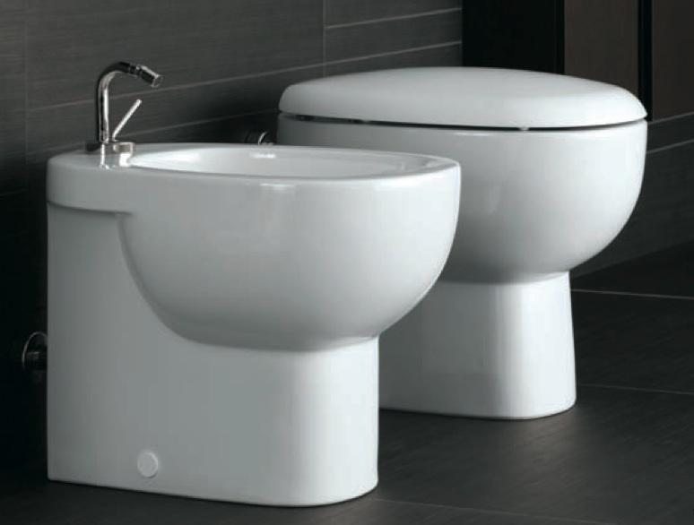 Sanitari da bagno wc vaso sedile e bidet serie quinta - Sanitari da bagno ...