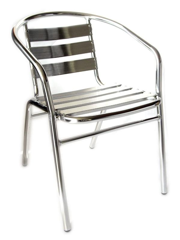 Sedia sedie in alluminio per casa o bar per interni o - Sedie per interni ...