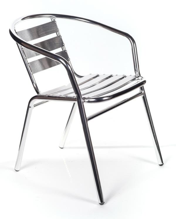Sedia sedie in alluminio per casa o bar per interni o for Sedie per esterno happy casa