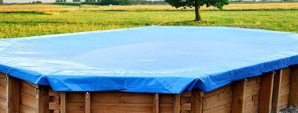 Teli copertura invernali ed estivi per piscine san marco for Teli per coprire piscine fuori terra