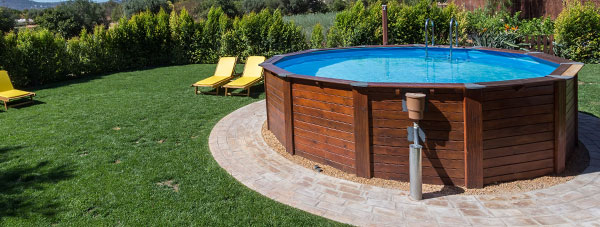 Piscine fuori terra intex gre bestway zodiac san marco for Teli per piscine interrate