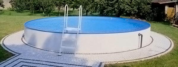 Piscine fuori terra intex gre bestway zodiac san marco for Immagini di piscine fuori terra