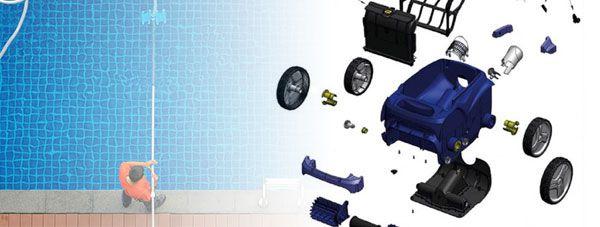 Robot pulitori per piscine kit di pulizia e ricambi san for Gre piscine ricambi