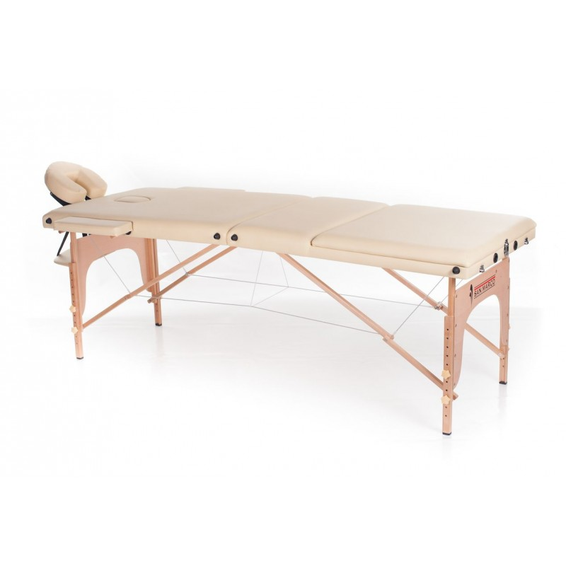 Lettino massaggio in legno a 3 zone  San Marco