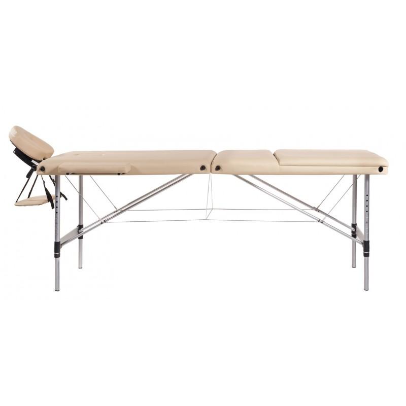 Lettino Massaggio Portatile In Alluminio.Lettino Massaggio In Alluminio A 3 Zone San Marco