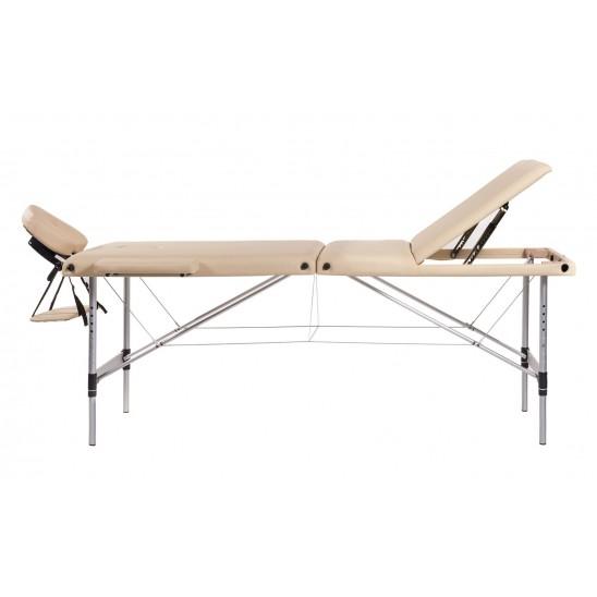 Lettino Da Massaggio Portatile Leggero.Lettino Da Massaggio Portatile Alluminio 3 Zone
