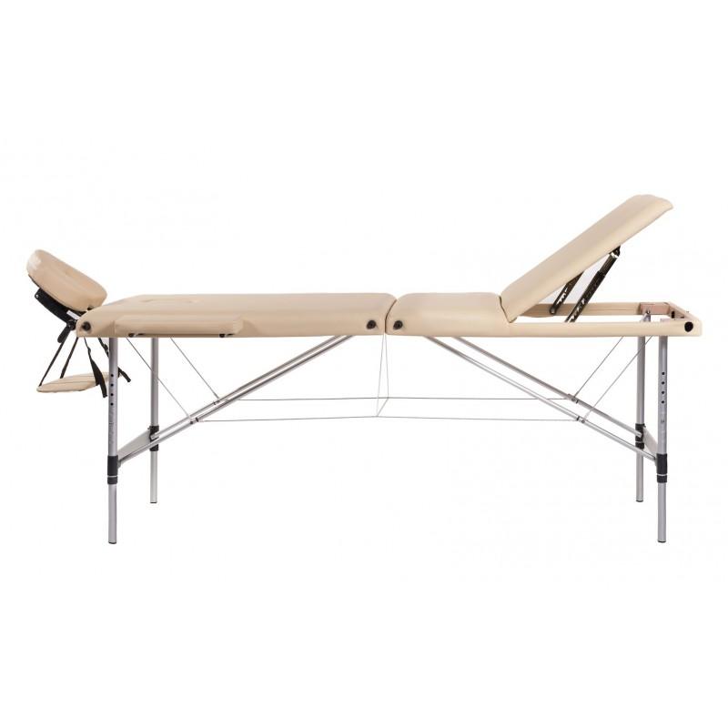 Lettino Massaggio Portatile Leggero.Lettino Massaggio In Alluminio A 3 Zone San Marco