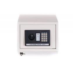 Cassaforte a muro elettronica con combinazione digitale 30x20 cm bianca