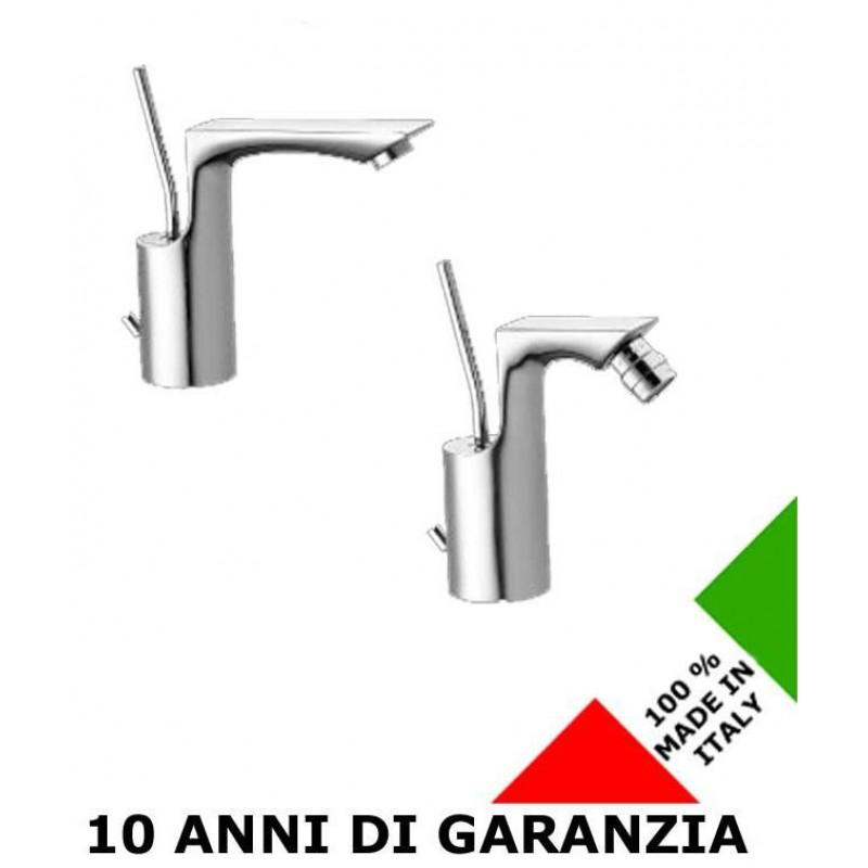 2 rubinetti per lavabo e bidet chet effepi san marco for Rubinetti per lavabo