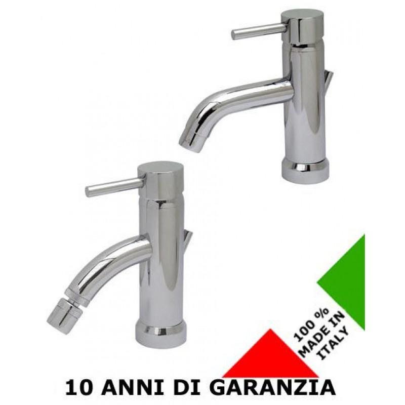 2 rubinetti per lavabo e bidet minax effepi san marco for Rubinetti per lavabo