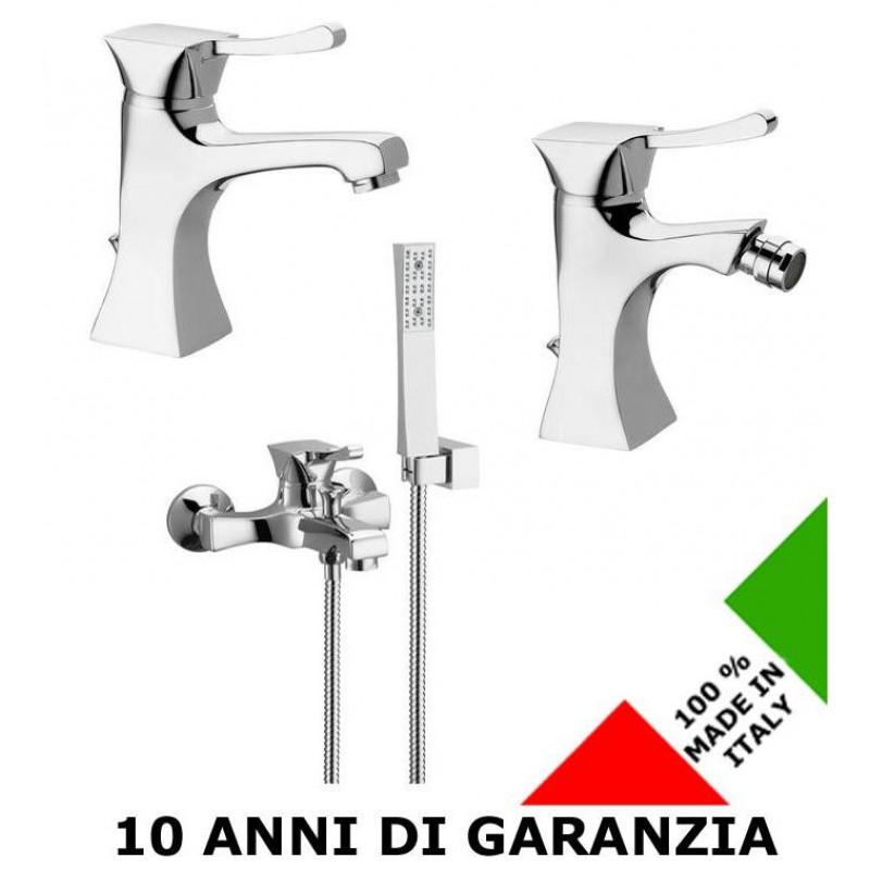3 Rubinetti per lavabo, bidet e vasca Chic Effepi | San Marco