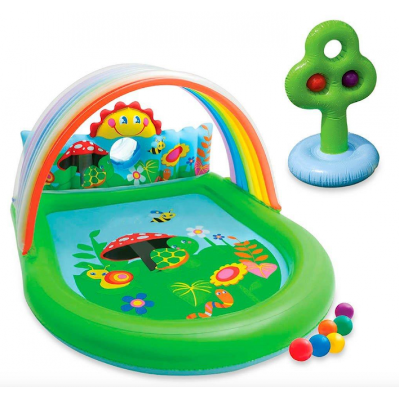 Gioco gonfiabile per piscina intex arcobaleno san marco - Piscina gioco gonfiabile ...