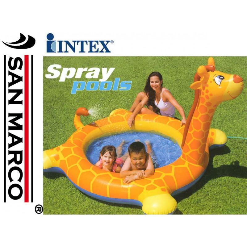 Gioco gonfiabile intex piscina giraffa san marco - Piscina gioco gonfiabile ...