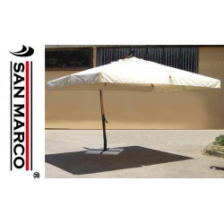 Gazebo ombrellone pieghevole 3x3 mt