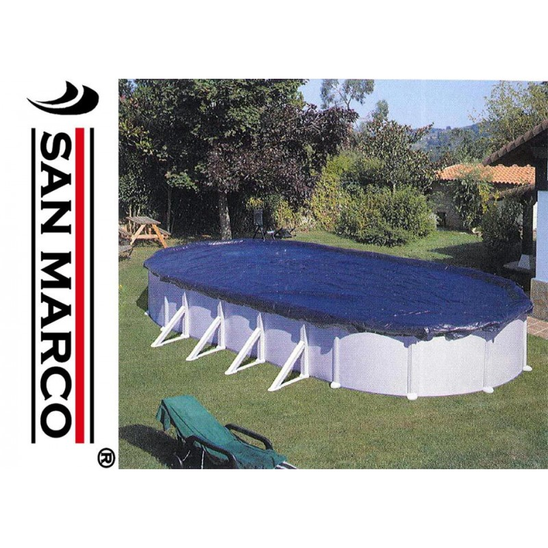 Telo gre copertura invernale piscine ovali 915x470 cm for Piscine fuori terra rotonde