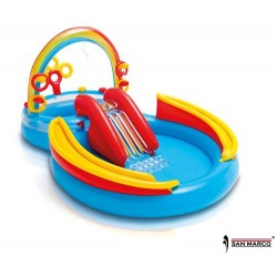 Gioco gonfiabile Rainbow Ring Play Center Intex