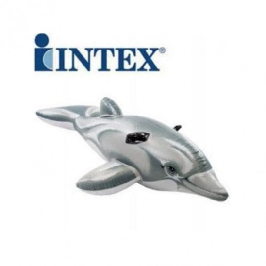 Gioco gonfiabile Intex Dolphin Ride-On