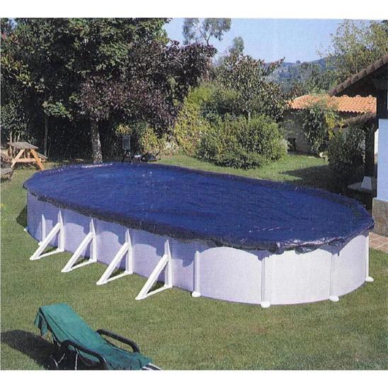 Telo Gre copertura invernale per piscine ovali 730x375 cm