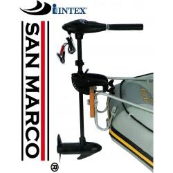 Motore elettrico per gommoni e canoe Intex