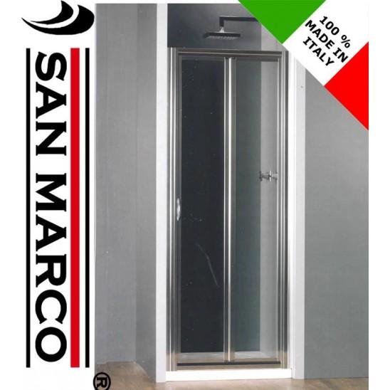 Porta per cabina doccia apertura a libro ferbox san marco - Porta a soffietto prezzo ...