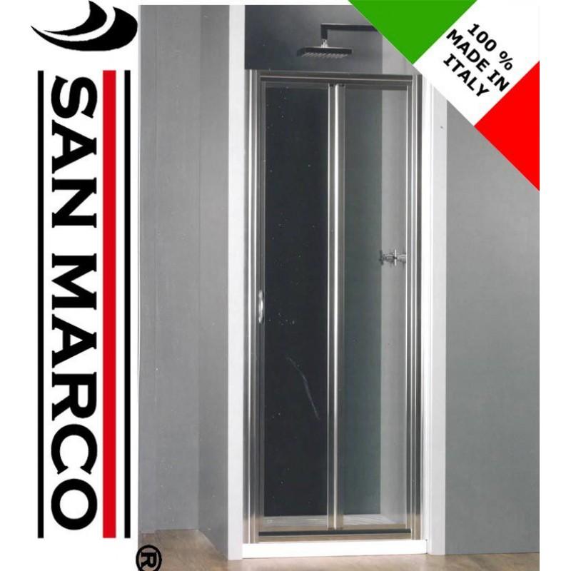 Porta per cabina doccia a soffietto idealbox san marco - Porta per doccia ...