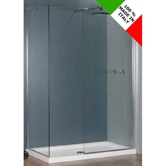 Piatto doccia a filo pavimento barbara 80 x 160 - Dimensioni piatto doccia rettangolare ...