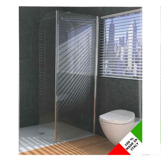 Box doccia 70x90 angolare anta fissa e battente san marco - Cabina doccia prezzo ...