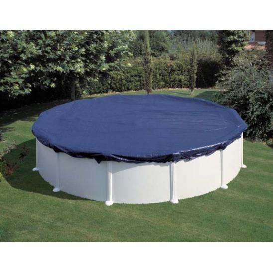 Telo gre copertura invernale piscine rotonde 550 cm san - Tappeto per piscina fuori terra ...