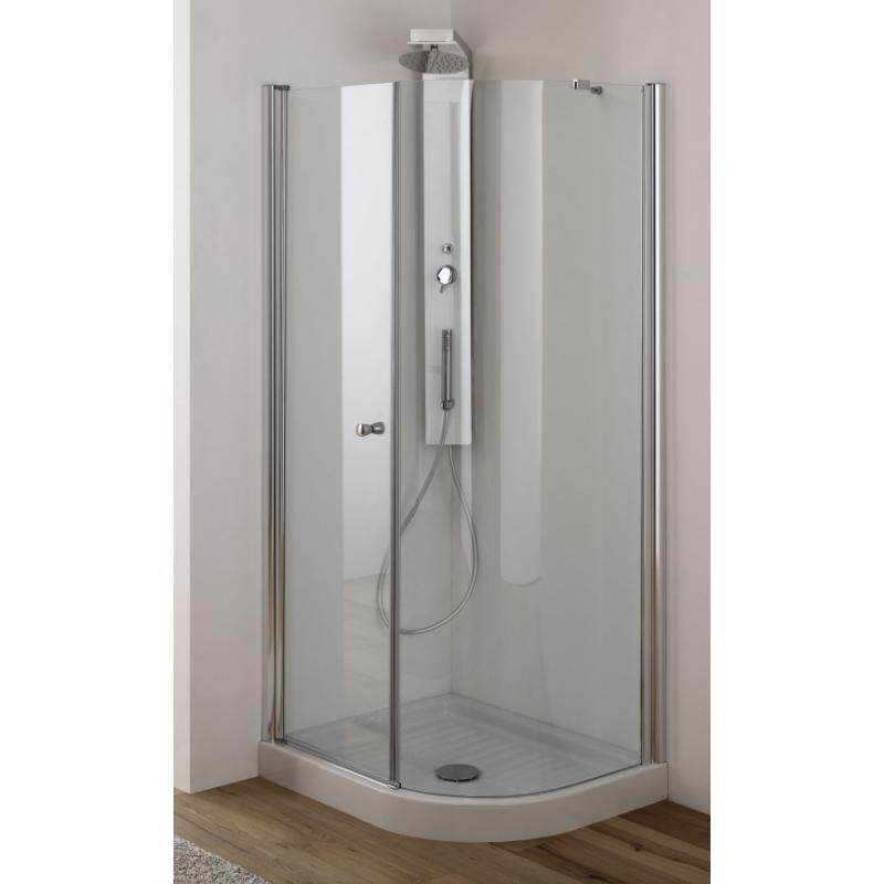 Box doccia 70x90 angolare anta fissa e battente san marco - Box doccia da esterno ...