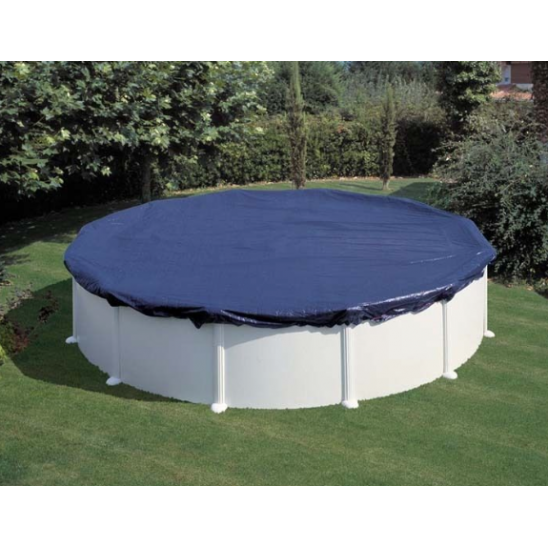 Liner per piscine gre azzurro rotondo 300x65 cm san marco for Liner piscine transparent