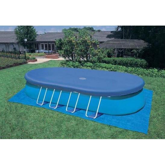 Telo invernale per piscine interrate 800 x 470cm san marco - Telo copertura piscina ...