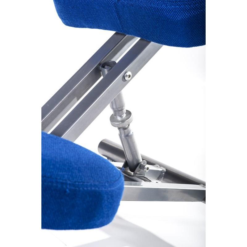 Sgabello ergonomico blu per casa o ufficio San Marco