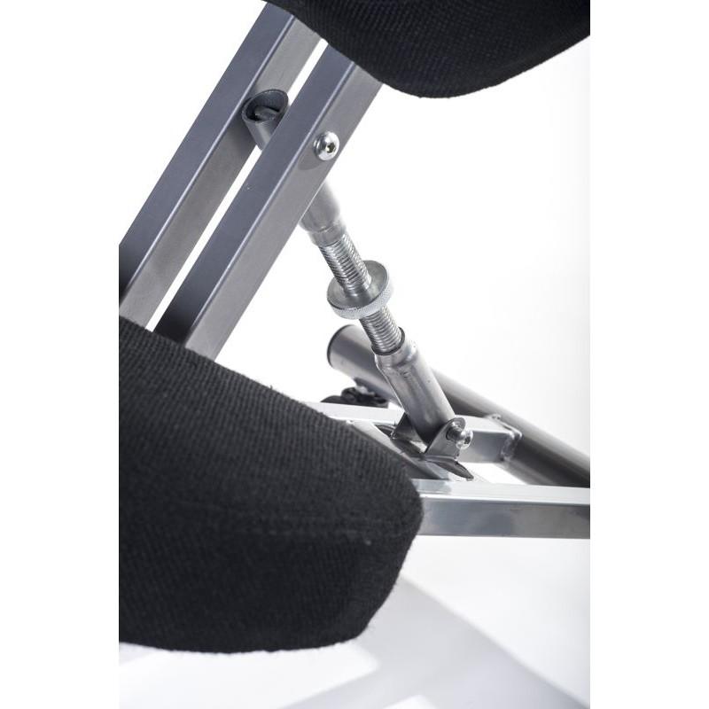 Sgabello ergonomico nero per casa o ufficio con ruote - Sgabello ergonomico ikea ...