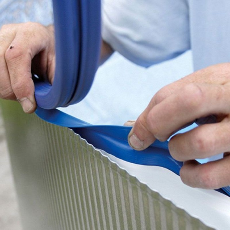 Liner per piscine gre azzurro ovale 500x310x120 cm san marco for Liner per piscine