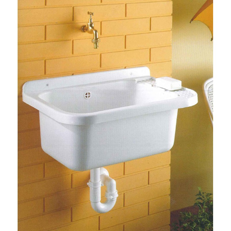 Lavatoio pilozzo lavanderia in resina per esterno san marco for Lavatoio esterno