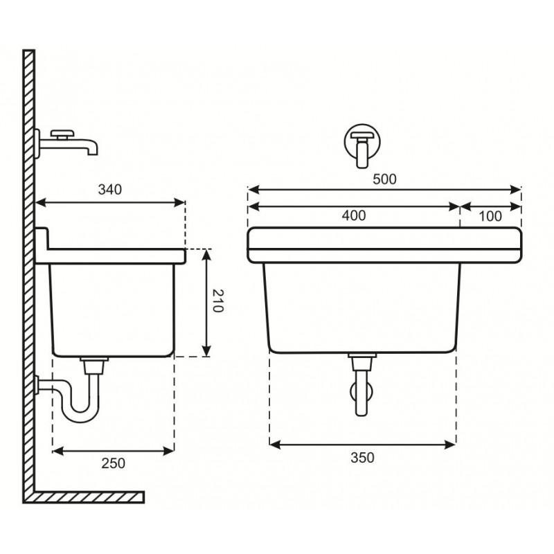 Lavandino Per Esterno In Plastica.Lavatoio Pilozzo Lavanderia In Resina Per Esterno San Marco