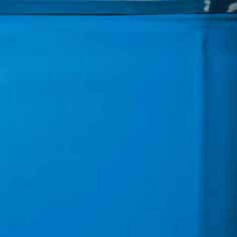 Liner piscina gre azzurro rotondo 350x120 cm san marco for Liner piscina
