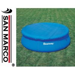 Telo copertura Bestway per piscine rotonde 244cm